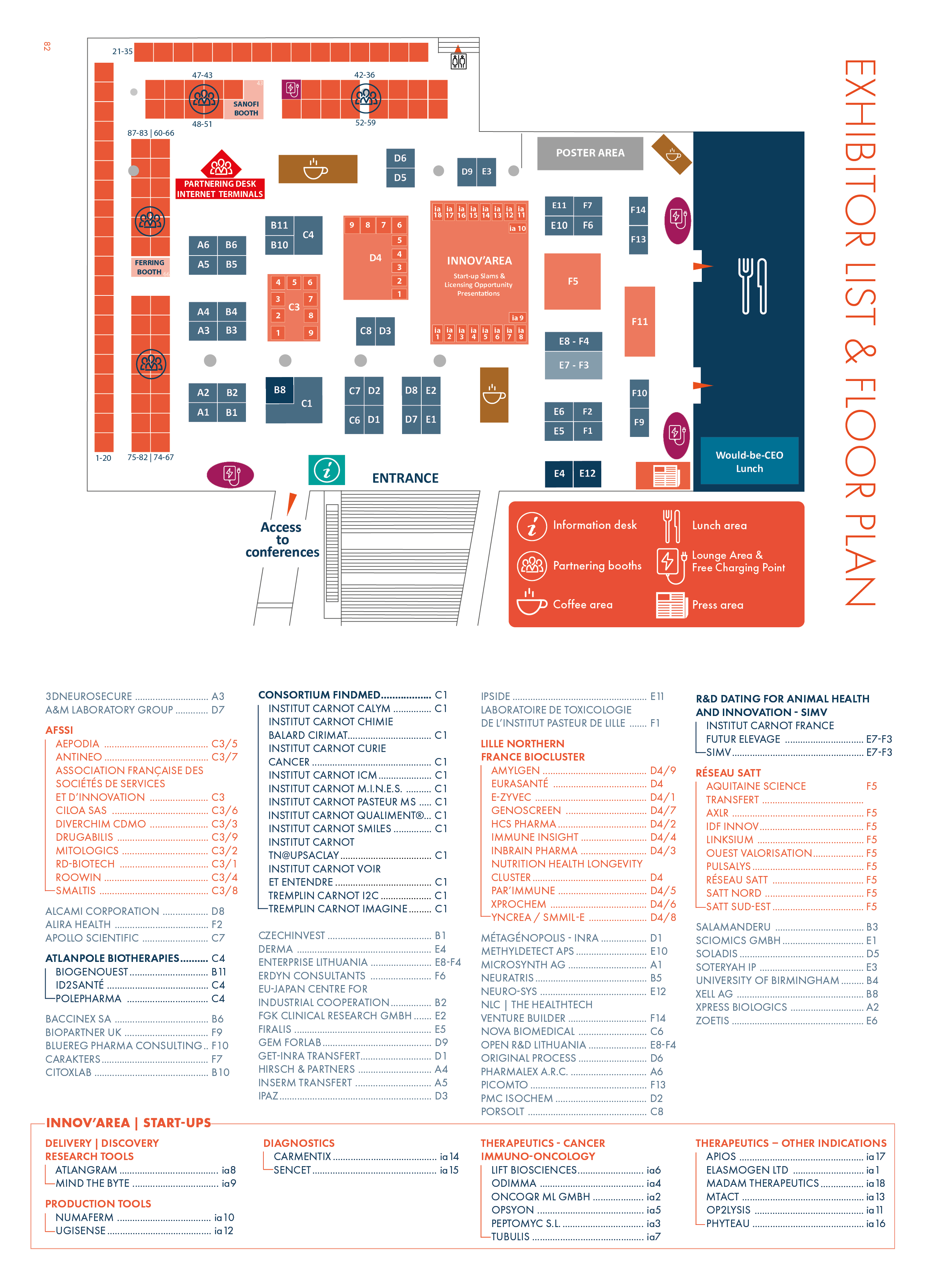 The Floor Plan Of Biofit 2018 Is Out